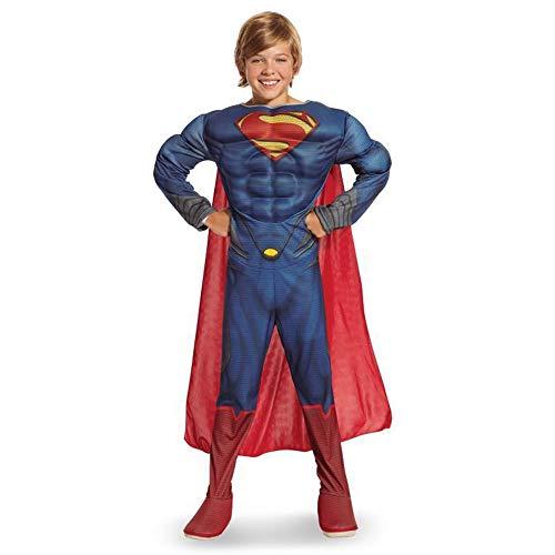 KILLM Junge Kind Halloween Superheld Superman Stahl