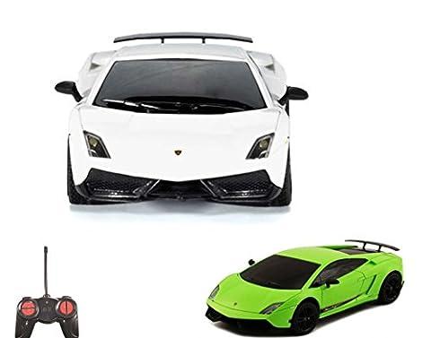 Lamborghini Gallardo LP570-4 Superleggera - RC ferngesteuertes Lizenz-Fahrzeug im Original-Design, Modell-Maßstab 1:24, Ready-to-Drive inkl. Fernsteuerung