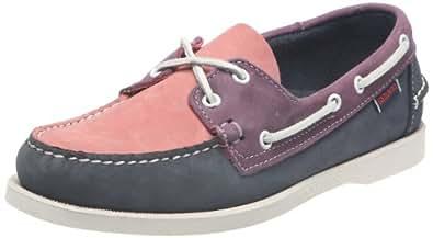 Sebago Spinnaker, Chaussures bateau homme - Bleu (Blue/Pink/Lavender) - 42 EU
