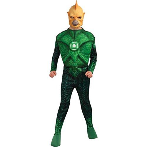 kel Green Lantern Kind (Green Lantern-muskel-kostüm)
