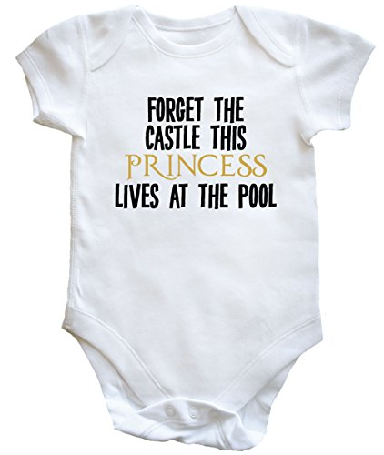 hippowarehouse-forget-the-castle-this-princess-lives-at-the-pool-baby-vest-boys-girls