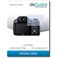 [2 Pack] Sony Cybershot DSC-HX350 Screen Protector Film disGuard® [Crystal Clear] Invisible, Transparent, Clear / Scratch Resistant, Bubble-Free Install, Anti-Fingerprint, Anti-Scratch / Film, Protector Film, Screen Guard