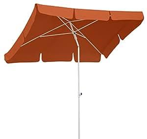 schneider sonnenschirm ibiza terracotta 180x120 cm rechteckig gestell stahl. Black Bedroom Furniture Sets. Home Design Ideas