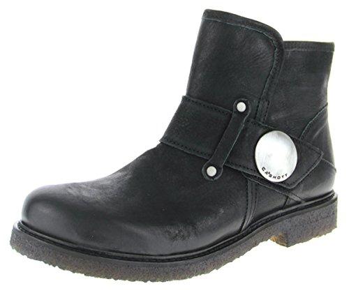 Ca Shott 16045 - Damen Schuhe Stiefel Boots - 2001-black-varese, Größe:38 EU (Varese Schuhe)