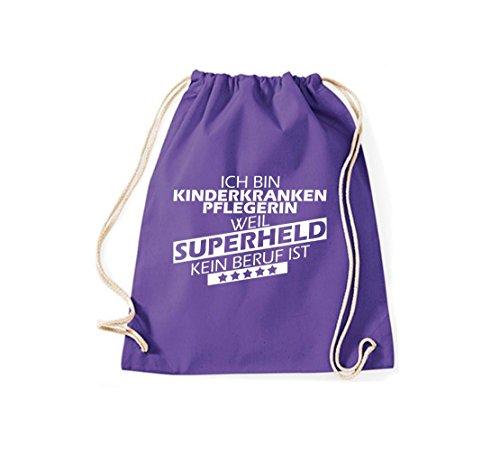 Shirtstown, Borsa tote donna Purple