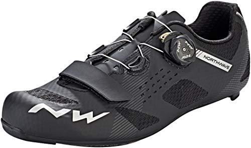 Northwave Storm Carbon Rennrad Fahrrad Schuhe schwarz 2019: Größe: 43 (Northwave Carbon)