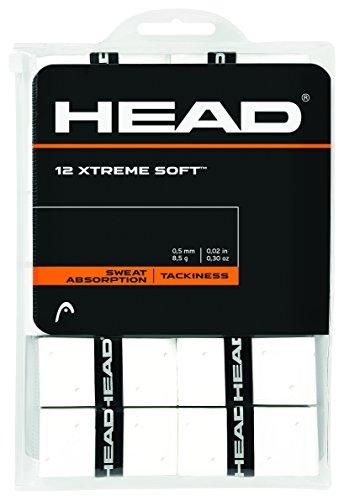 HEAD Xtreme Soft 12er weiß Overgrip, One Size