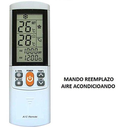 Mando a distancia Universal para Aire Acondicionado Airco Plus Modelo 2 - Reemplazo