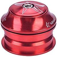 Keenso Dirección para Bicicleta, 3 Colores Dirección Accesorio de Horquilla (Rojo)