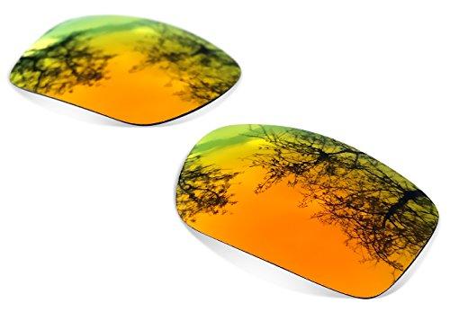 sunglasses restorer Kompatibel Ersatzlgläser für Oakley Jupiter Squared, Polarisierte Fire Iridium Linsen