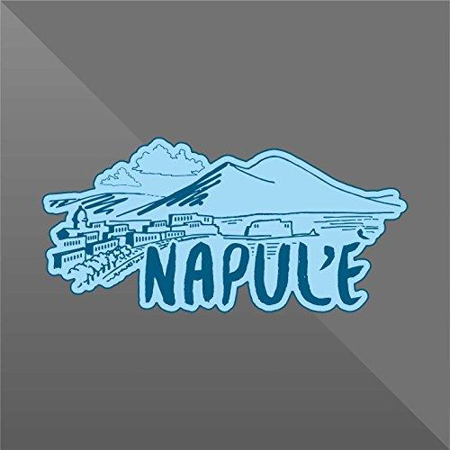 erreinge Sticker Napoli Naples Napoles Neapel - Decal Cars Motorcycles Helmet Wall Camper Bike Adesivo Adhesive Autocollant Pegatina Aufkleber - cm 22