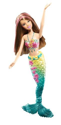 Barbie Dolls & Doll Houses Barbie Green Color Change Mermaid