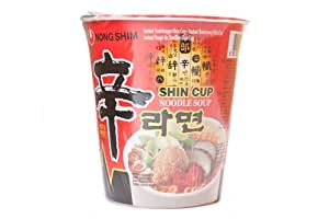 NS Shin Cup Hot & Spicy Instant Noodle - 68G