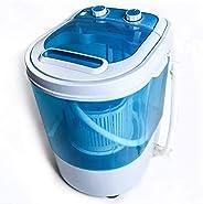 Display4top Portable Charge supérieure 3.2kg Bleu machine à laver - machines à laver - Prise standard européen