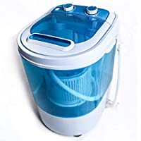 Display4top Portable Charge supérieure 3.2kg Bleu machine à laver - machines à laver - Prise standard européenne