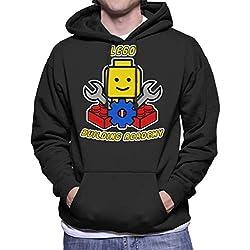 Lego Building Academy Men's Hooded Sweatshirt