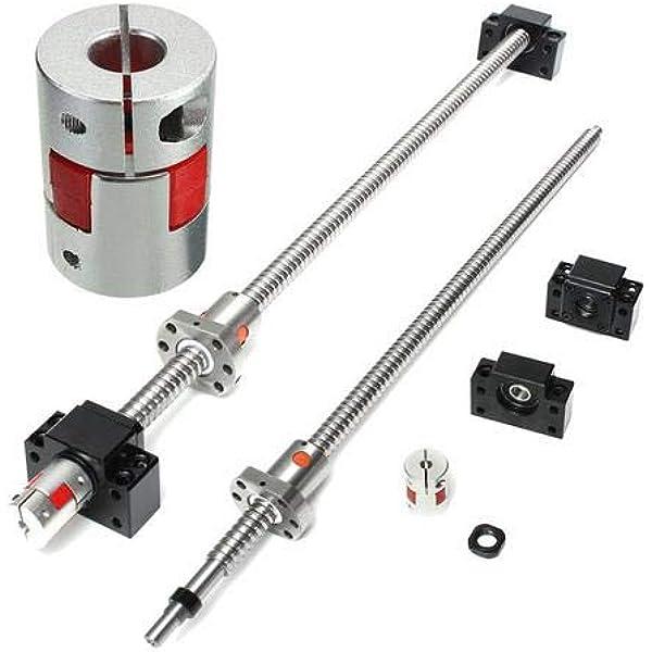 SFU1605 650mm Kugelumlaufspindel Kugelgewindetrieb Spindelmutter für CNC Fräse