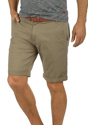 !Solid Montijo Chino Shorts Bermuda Kurze Hose Mit Gürtel Aus Stretch-Material Regular Fit, Größe:L, Farbe:Dune (5409) -