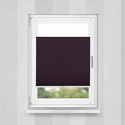 Plissee Bordeauxrot HOME-VISION - 2