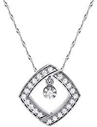 Vivre Silver Alloy Pendant For Women's Without Chain