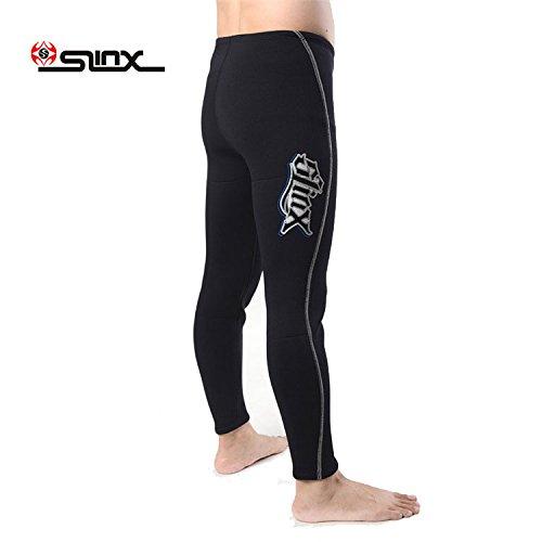 PAWHITS Combinaison Pantalon en néoprène 3mm Pantalon Thermique de plongée avec Taille Haute pour Adulte Femme Homme (XXL)