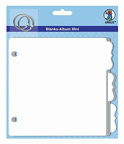 Ursus 15020003 - Blanko Album Mini Register, ca. 16 x 15,2 cm Preisvergleich