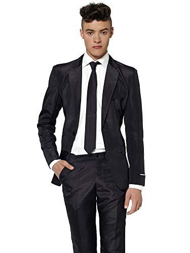 Suitmeister - Traje - para Hombre Negro Solid Black