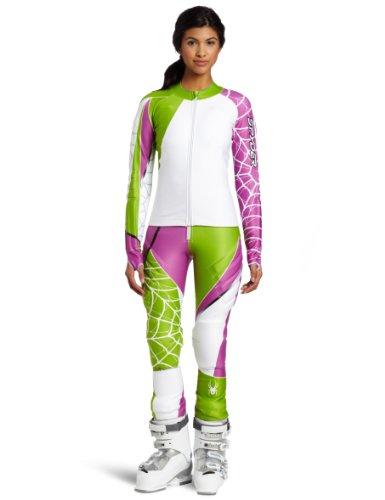 Spyder Women 's World Cup SL Zwei Stück Race Suit, damen Herren, Sassy (2 Suit Spider)