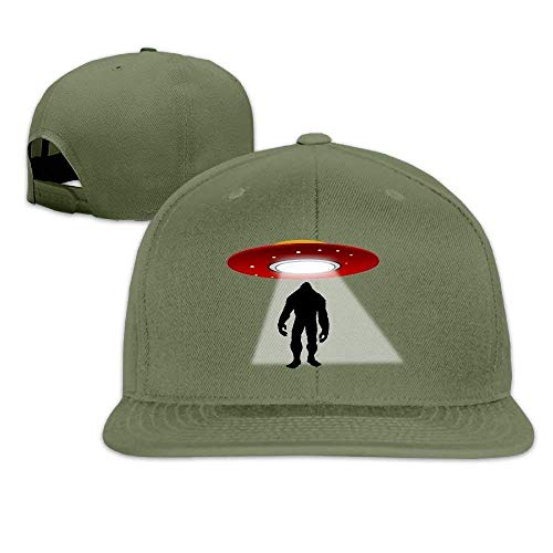 Imagen de gfhigfkj snapback ufo bigfood flat bill sun hat unisex baseball caps for girls boys teens gh941