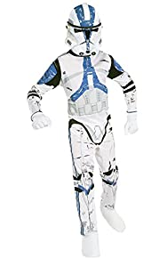 Star - Disfraz de Star Wars Trooper para niño, (8 - 10 años)