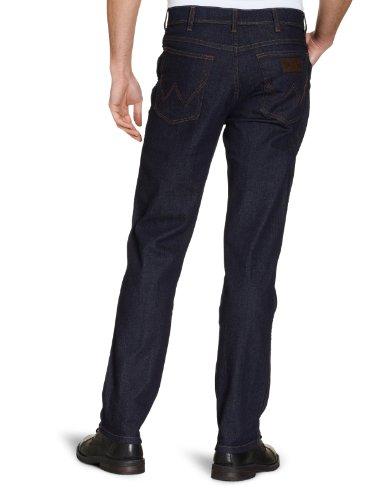 Wrangler - Texas Stretch - Jeans - Homme Gris - Darkstone