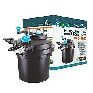 All Pond Solutions EURO-PFC-8000 Druckfester Koiteich-Filter/UV-Sterilisator für PFC, 8000 Litre.