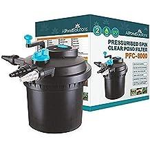 All Pond Solutions Filtro a presión y esterilizador UV para Estanque de Peces para PFC,