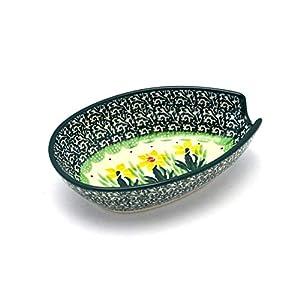 Polish Pottery Spoon Rest – Daffodil