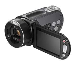 Samsung HMX-H105 HD-Camcorder (SD/SDHC-Card, 32 GB interner Speicher, 10-fach opt. Zoom, 37mm Weitwinkel, 6,9 cm (2,7 Zoll) Display) schwarz