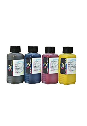Kit 4-Farben Sublimation von 100 ml für Drucker Ricoh, Epson, Brother