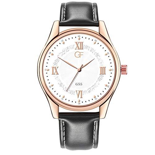 Herren Damen Uhr,Pottoa Exquisite Uhr - Business Freizeit Armbanduhren - Klassische Uhr für Männer - Armbanduhr Luxus Design Für Geschenke, Dekoration