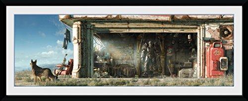fallout bilder GB Eye Fallout 4Garage Gerahmter Druck, mehrfarbig, 75x 30cm