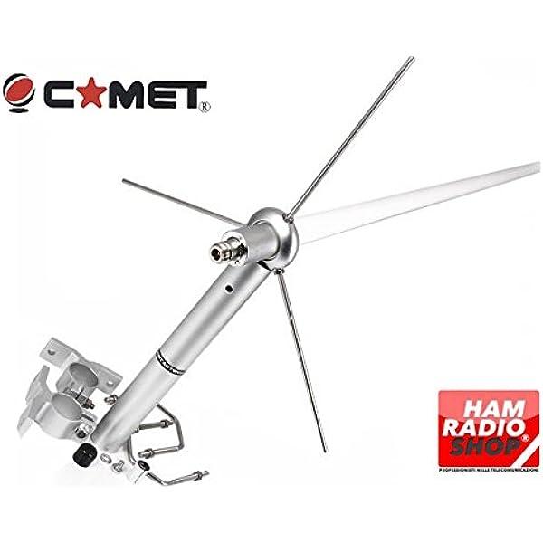 Comet - Gp-6m Antena bibanda 144/430 MHz Altura 307 cm ...