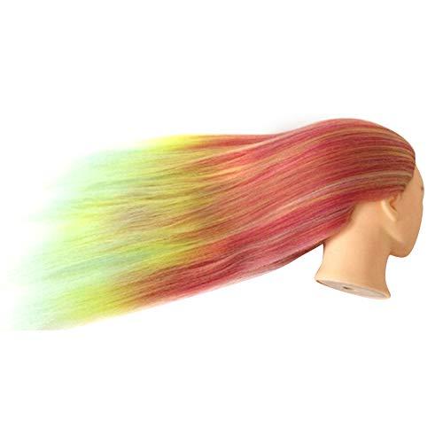 TankMR Schaum Haar Kopf Schimmel, Weibliches Modell, Dummy-Modell, Schaufensterpuppe Training, Haarverlängerungen, Hut Perücke Schmuck Halter 11