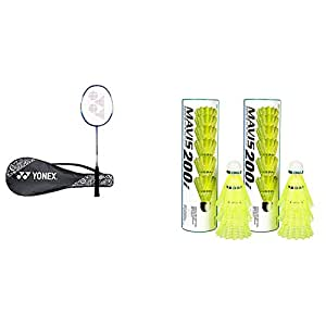 Yonex ZR Series Aluminium Strung Badminton Racquet with Full Cover