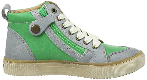 Bisgaard Unisex-Kinder Schnürschuhe High-Top Grün (1001 Green)
