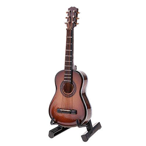 Baoblaze Miniatura Juguete de Escala 1/6 Modelo Guitarra Clásica para Muñeca Figura de Acción Modelo de Anime Figurita - # 2