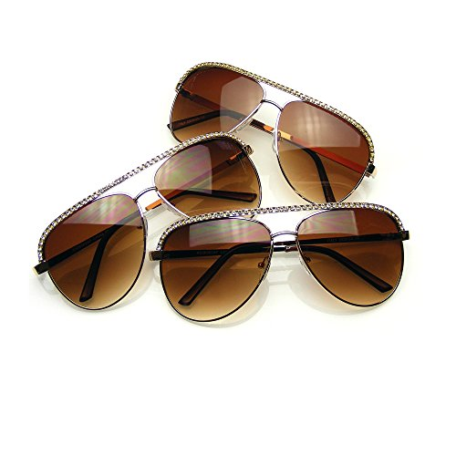 Emblem Eyewear Mehrere Paar Sonnenbrille Pack Schattierungen BUNDLE Sonnenbrillen Flash Mirror...