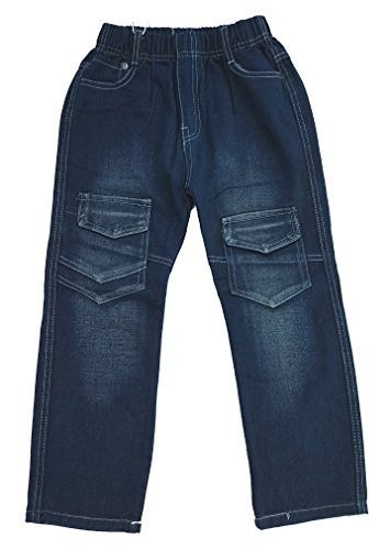 Bequeme Jeans mit rundum Gummizug in blau, Gr. 98, J210.2e
