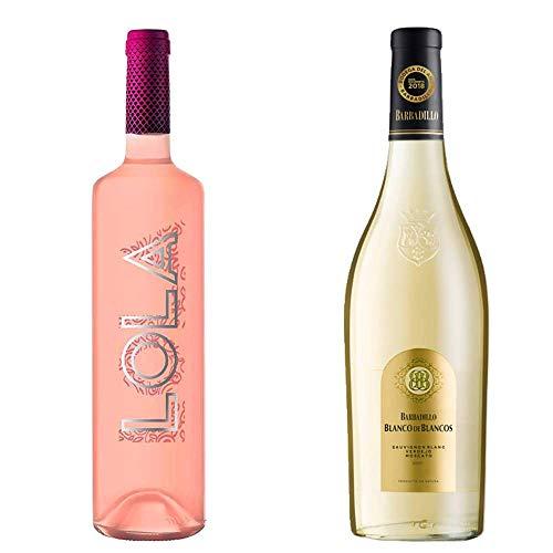 Lola Rosado Y Blanco De Los Blancos - D. O. Campo De Borja Y Vino De La Tierra De Cádiz - 2 Botellas De 750 Ml
