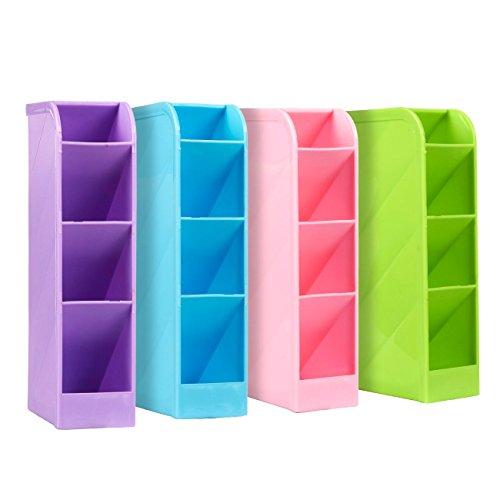 Schule Schreibtisch Stift Caddy Organizer–4-teiliges Set Schule Equipment Aufbewahrung Halter...