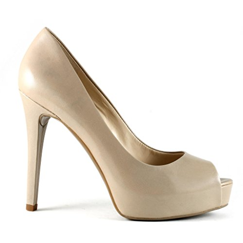 G By Guess Pavell 3 Cuir Talons Taupe