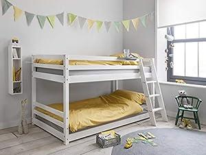 Hilda Cabin Bed with Bunk Underbed
