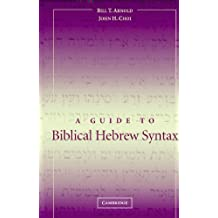 A Guide to Biblical Hebrew Syntax (English Edition)